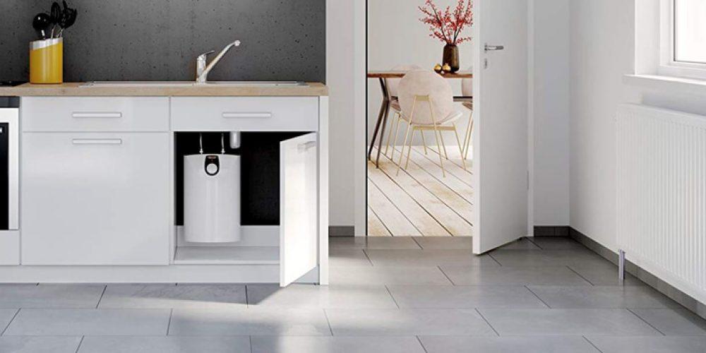 Untertischgerät in der Küche - Quelle: Stiebel Eltron