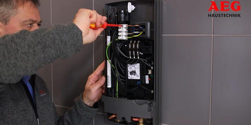 Durchlauferhitzer Stromanschluss - richtig anschließen